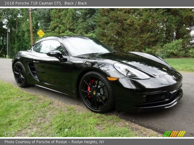 2018 Porsche 718 Cayman GTS in Black