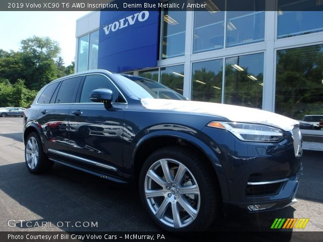 2019 Volvo XC90 T6 AWD Inscription in Denim Blue Metallic