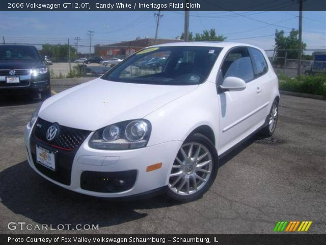 candy white 2006 volkswagen gti 2 0t interlagos plaid. Black Bedroom Furniture Sets. Home Design Ideas