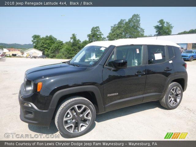 2018 Jeep Renegade Latitude 4x4 in Black