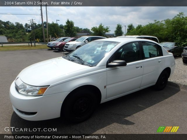 2004 Saturn ION 2 Sedan in Polar White
