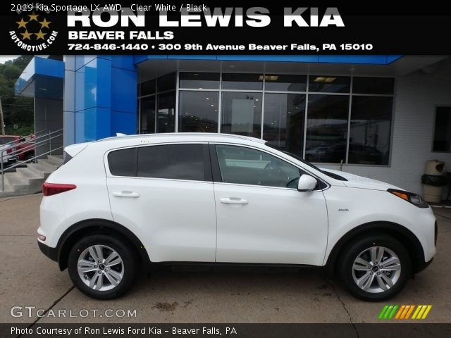 2019 Kia Sportage LX AWD in Clear White