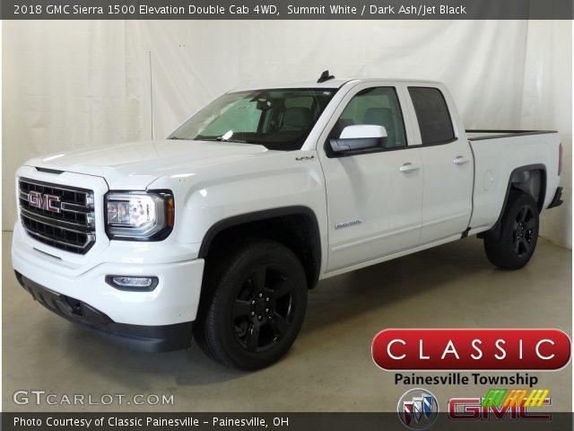 2018 GMC Sierra 1500 Elevation Double Cab 4WD in Summit White
