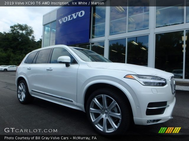 2019 Volvo XC90 T6 AWD Inscription in Ice White