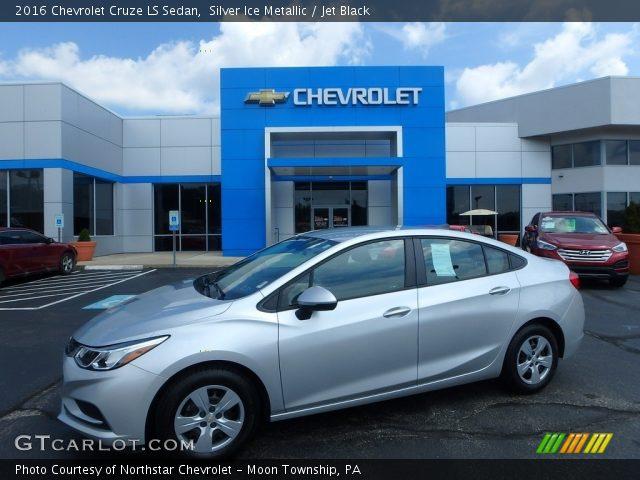 2016 Chevrolet Cruze LS Sedan in Silver Ice Metallic