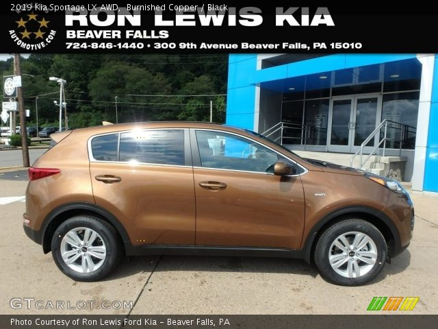 2019 Kia Sportage LX AWD in Burnished Copper