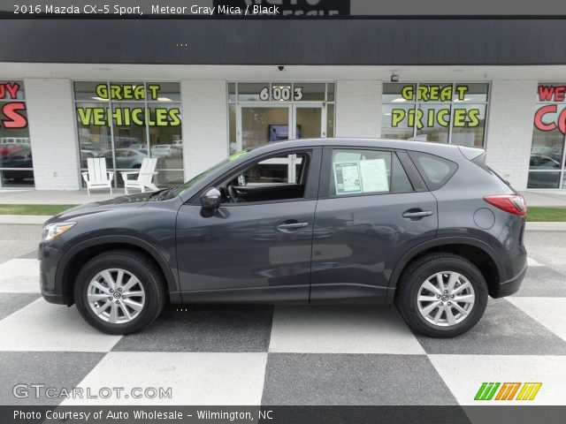 2016 Mazda CX-5 Sport in Meteor Gray Mica