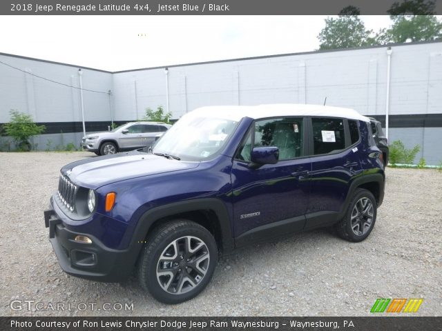 2018 Jeep Renegade Latitude 4x4 in Jetset Blue