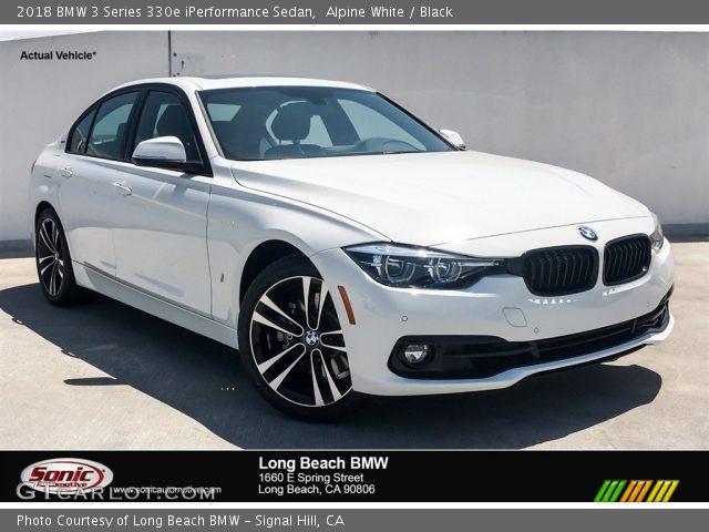 2018 BMW 3 Series 330e iPerformance Sedan in Alpine White