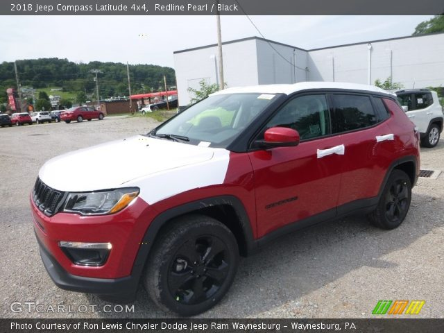 2018 Jeep Compass Latitude 4x4 in Redline Pearl