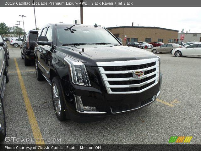 2019 Cadillac Escalade Premium Luxury 4WD in Black Raven