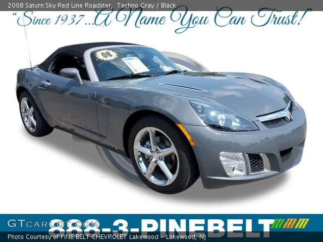 2008 Saturn Sky Red Line Roadster in Techno Gray
