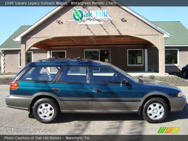 1996 Subaru Legacy Outback Wagon. 1996 Subaru Legacy Outback