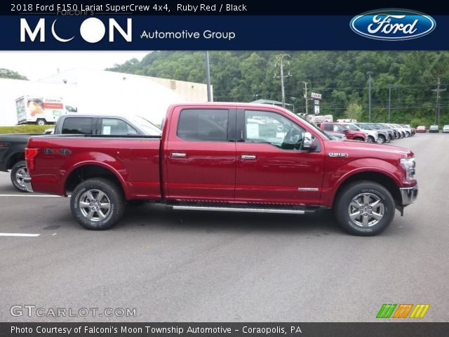 2018 Ford F150 Lariat SuperCrew 4x4 in Ruby Red