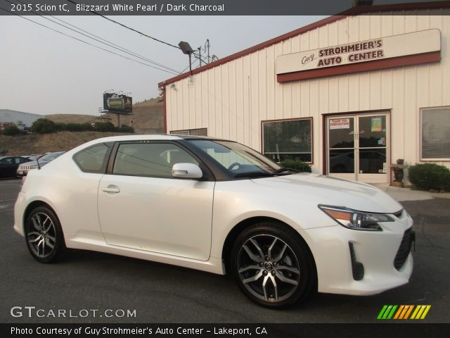 2015 Scion tC  in Blizzard White Pearl