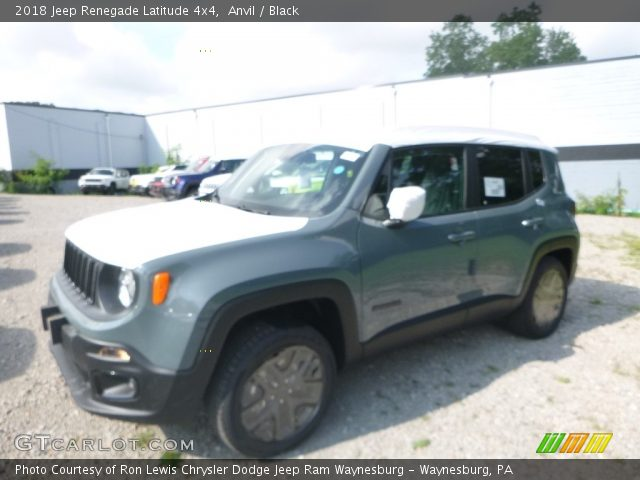2018 Jeep Renegade Latitude 4x4 in Anvil