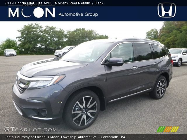 2019 Honda Pilot Elite AWD in Modern Steel Metallic
