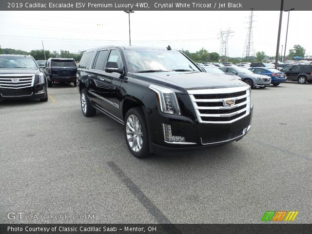 2019 Cadillac Escalade ESV Premium Luxury 4WD in Crystal White Tricoat