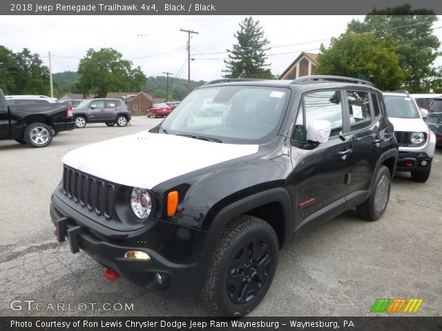 2018 Jeep Renegade Trailhawk 4x4 in Black