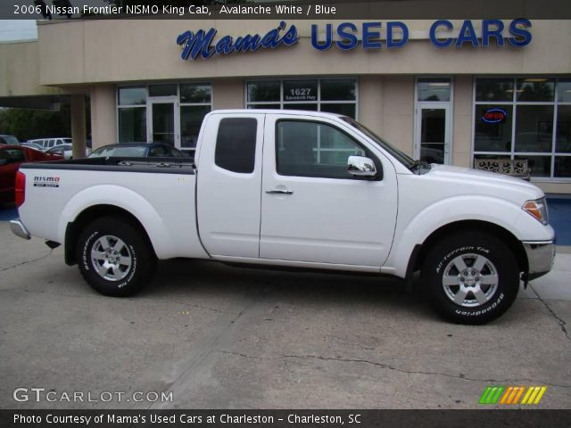 avalanche white 2006 nissan frontier nismo king cab. Black Bedroom Furniture Sets. Home Design Ideas