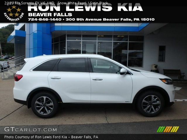 2019 Kia Sorento EX V6 AWD in Snow White Pearl