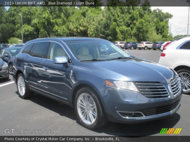 2019 Lincoln MKT AWD in Blue Diamond