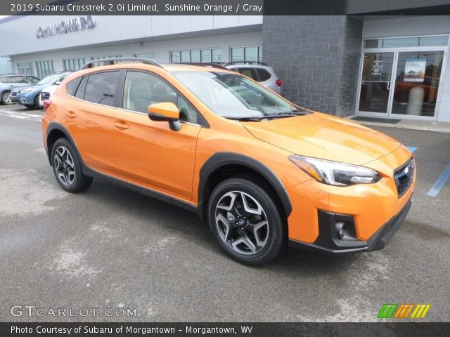 2019 Subaru Crosstrek 2.0i Limited in Sunshine Orange
