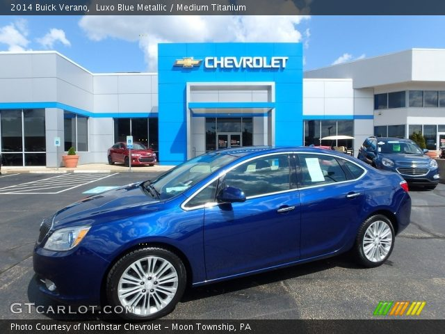 2014 Buick Verano  in Luxo Blue Metallic