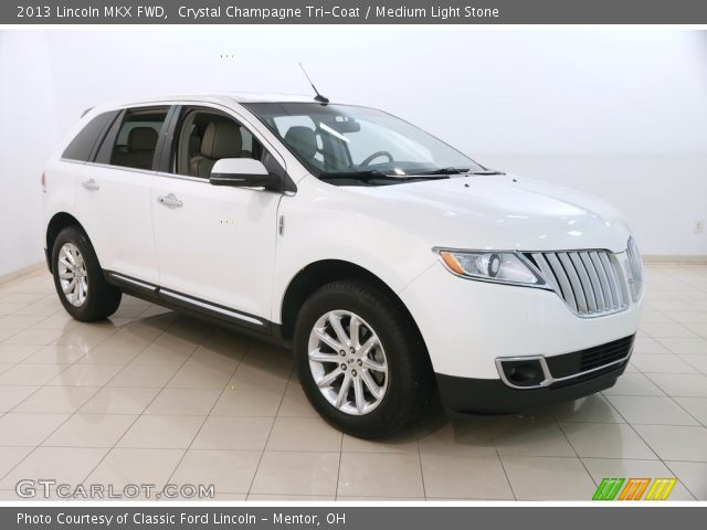 2013 Lincoln MKX FWD in Crystal Champagne Tri-Coat
