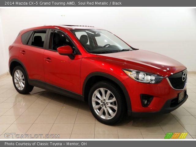 2014 Mazda CX-5 Grand Touring AWD in Soul Red Metallic