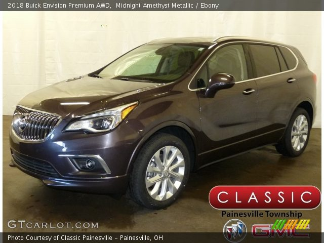 2018 Buick Envision Premium AWD in Midnight Amethyst Metallic