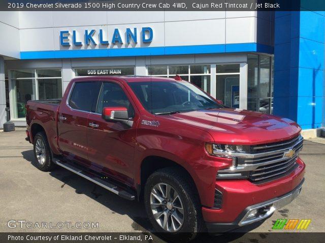 2019 Chevrolet Silverado 1500 High Country Crew Cab 4WD in Cajun Red Tintcoat