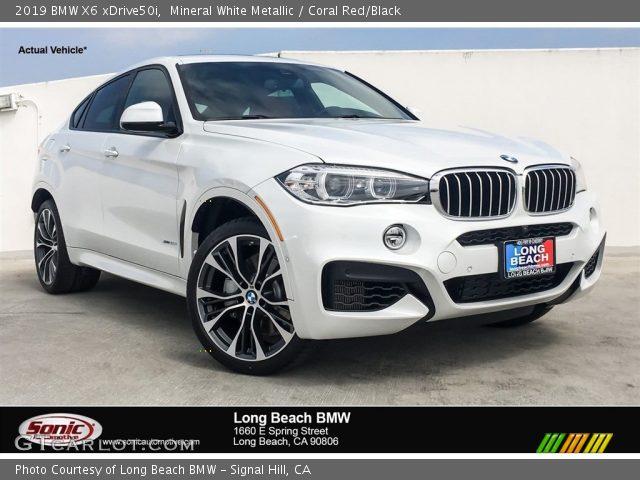 2019 BMW X6 xDrive50i in Mineral White Metallic