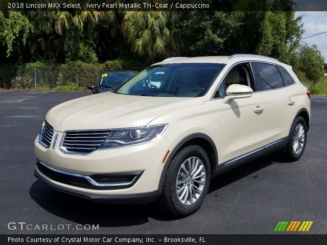 2018 Lincoln MKX Select in Ivory Pearl Metallic Tri-Coat