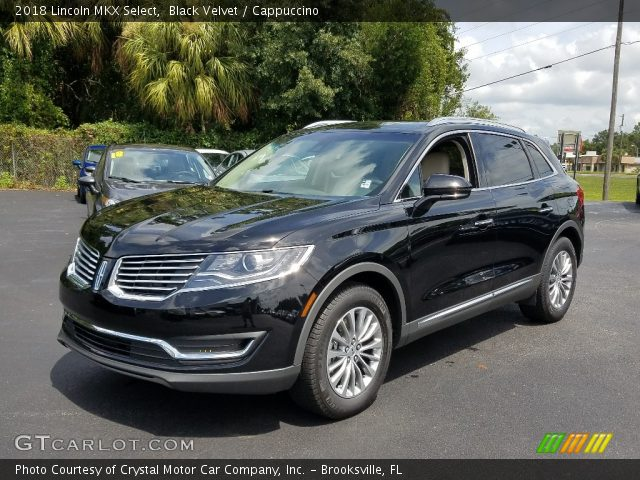 2018 Lincoln MKX Select in Black Velvet