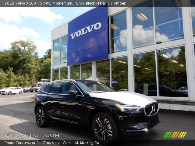 2019 Volvo XC60 T6 AWD Momentum in Onyx Black Metallic
