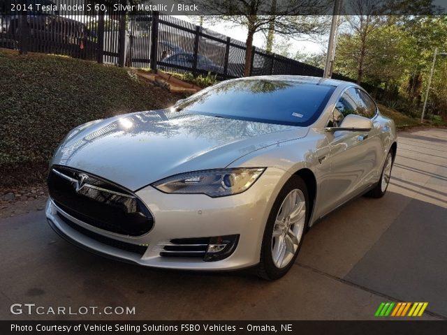 2014 Tesla Model S 60 in Silver Metallic
