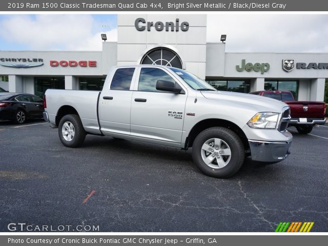 2019 Ram 1500 Classic Tradesman Quad Cab 4x4 in Bright Silver Metallic