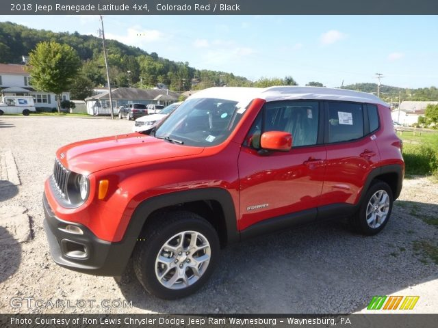 2018 Jeep Renegade Latitude 4x4 in Colorado Red