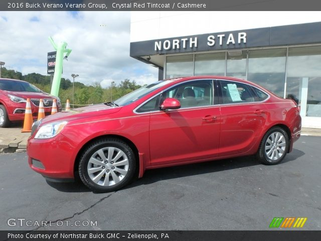2016 Buick Verano Verano Group in Crystal Red Tintcoat