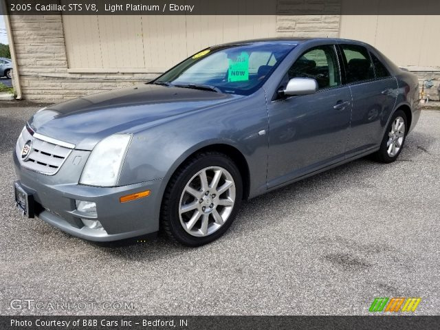 2005 Cadillac STS V8 in Light Platinum