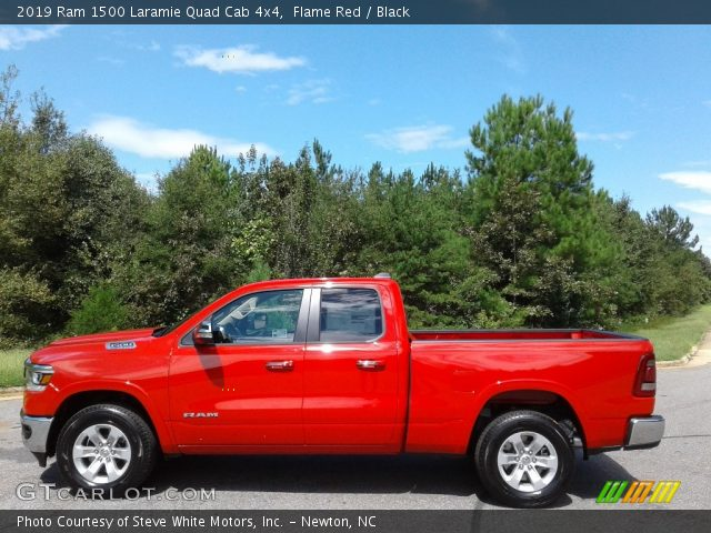 2019 Ram 1500 Laramie Quad Cab 4x4 in Flame Red