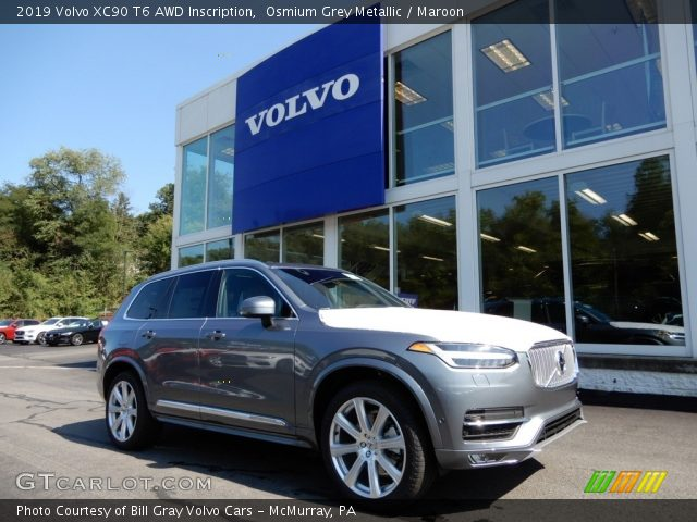 2019 Volvo XC90 T6 AWD Inscription in Osmium Grey Metallic