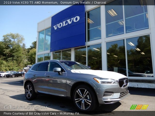 2019 Volvo XC60 T5 AWD Momentum in Osmium Grey Metallic