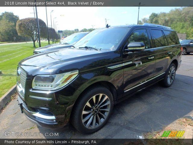2018 Lincoln Navigator Select 4x4 in Black Velvet