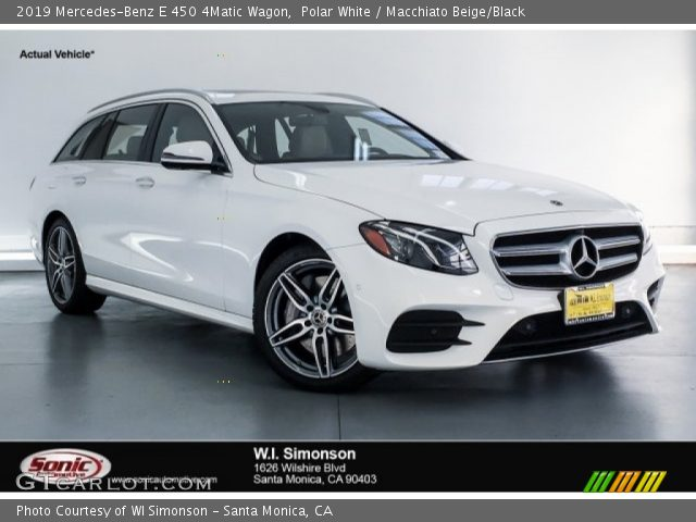 2019 Mercedes-Benz E 450 4Matic Wagon in Polar White