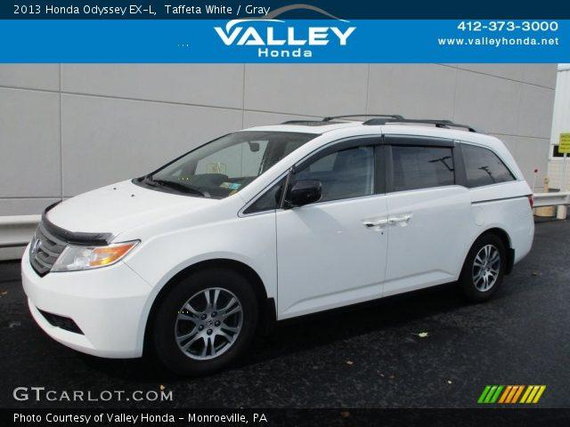 2013 Honda Odyssey EX-L in Taffeta White