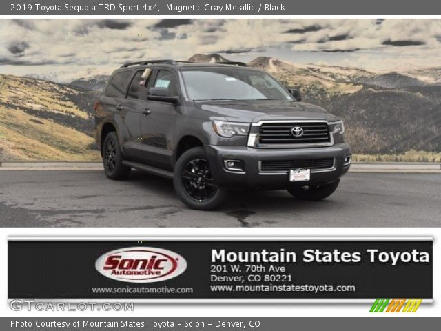 2019 Toyota Sequoia TRD Sport 4x4 in Magnetic Gray Metallic