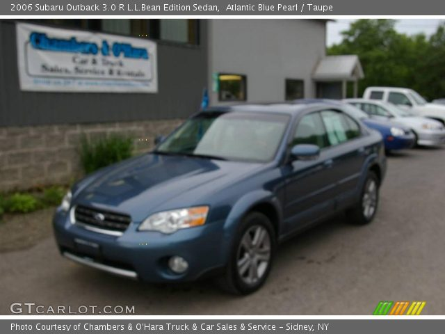 atlantic blue pearl 2006 subaru outback 3 0 r l l bean. Black Bedroom Furniture Sets. Home Design Ideas