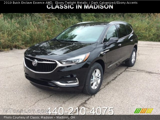 2019 Buick Enclave Essence AWD in Ebony Twilight Metallic